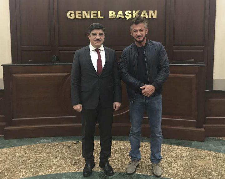 Sean Penn prepara en Turquía documental sobre asesinato de Khashoggi